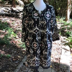 World market S/M pattern dress